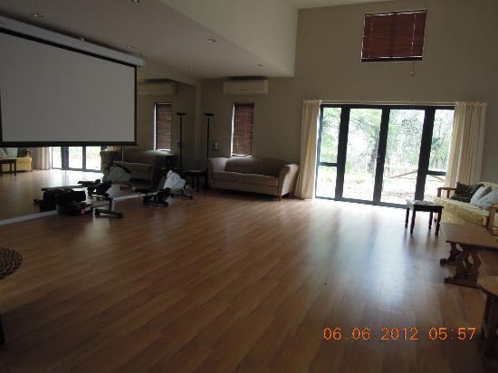 Mokoia Downs Estate B&B: Theatre cum dancing studio