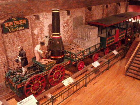 South Carolina State Museum: The Best Friend of Charleston (1830)