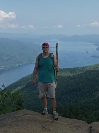 Black Mountain Loop: View of Lake George for Black Mountian Summit