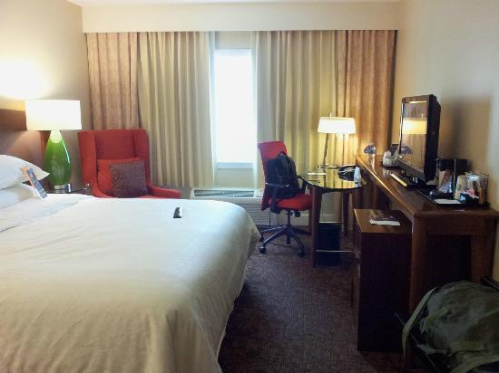 Sheraton Augusta Hotel : Bedroom