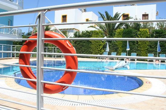 Villa Ria Apartments & Suites: Πισίνα