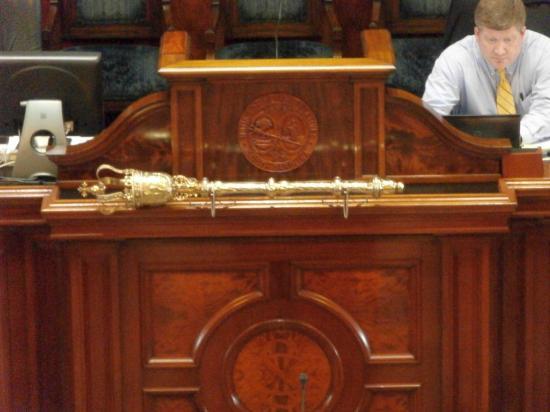 South Carolina State House : House of Representatives - The Mace
