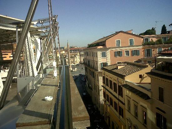 Vista Vs Pza Del Popolo Da Terrazza 6 Piano Picture Of
