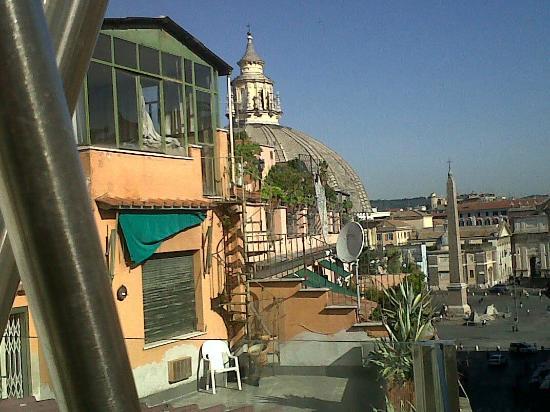 Vista Da Terrazza 6 Piano Picture Of Hotel Valadier Rome