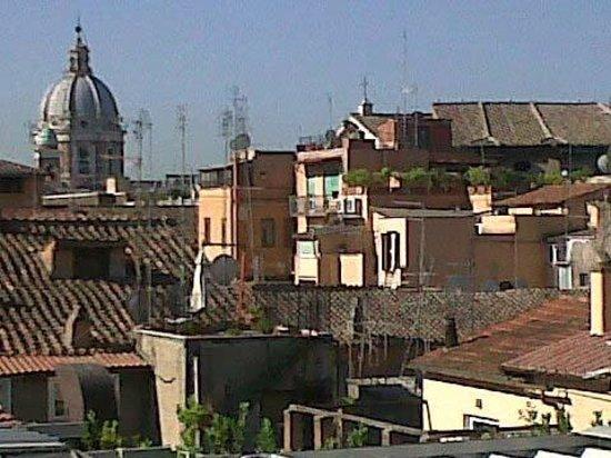 Vista tetti di Roma da terrazza 6° piano - Picture of Hotel Valadier ...