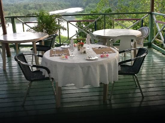 Rio Vista Resort: Dining at Rio Vista