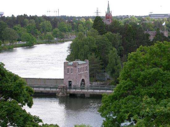Albert Koek Hotell & Konferens: View from the bar terrace