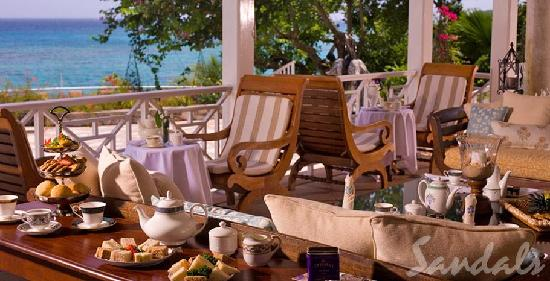 Dining at Sandals Royal Plantation
