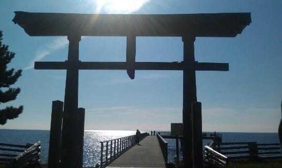 Daphne Restaurant: The Sechelt Pier, in walking distance