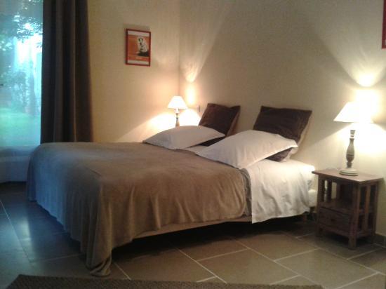 Sarlat Cote Jardin: chambre