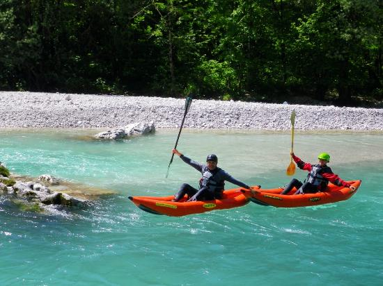Soca Rider: Kayak trips for beginners