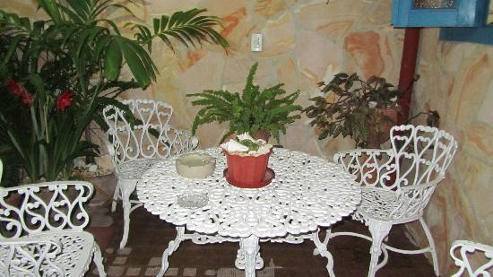 Villa Colonial Frank y Arelys: Patio