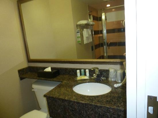 Comfort Suites Downtown: lavabo