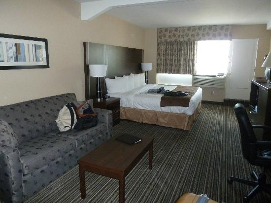 Comfort Suites Downtown: chambre