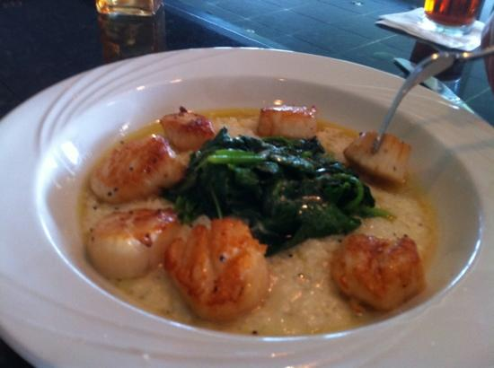 Greenside Grille: Scallops and risotto - $26.00