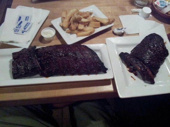 Butcher Block Restaurant : OMG !!! God gift 2 me !! BABY BACK RIBS !!