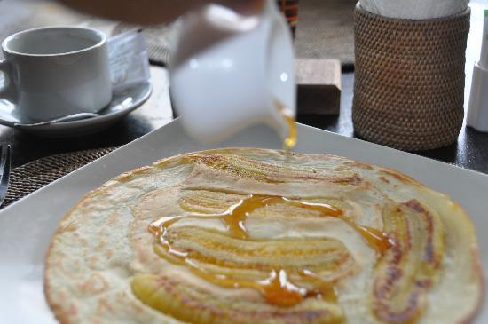 Pondok Pisces Bungalows : Banana pancake