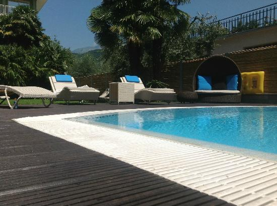 Hotel Villa Enrica : Gartenoase