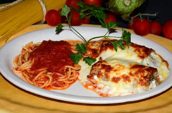 Visconti Ristorante : Spaghetti with marinara sauce