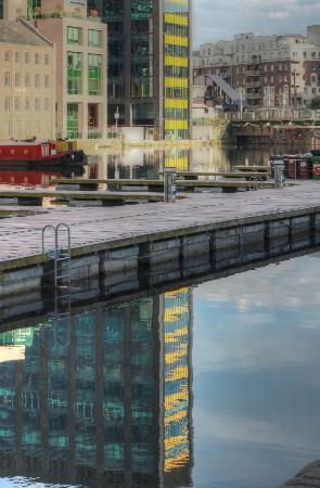 Grand Canal Hotel: Docklands vor der Haustür des Hotels