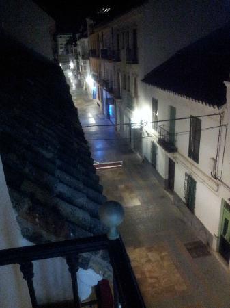 Hotel Hostal Marbella: View from balcony