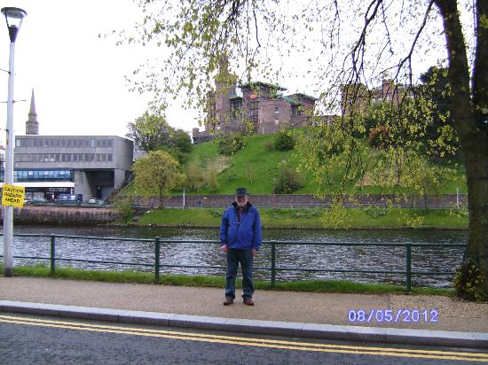 Best Western Inverness Palace Hotel & Spa: The view from the hotel doorway