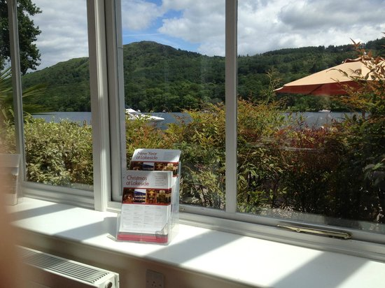 John Ruskin Brasserie at Lakeside Hotel: Conservatory view