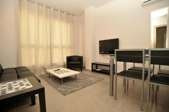 Apartamentos Marina Suites : Modernes Ambiente im Wohnbereich