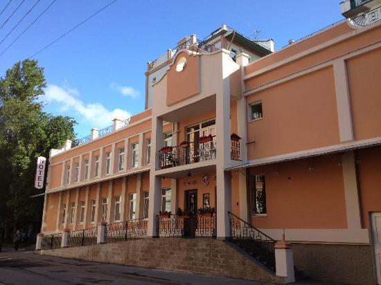 Hotel Regina: Вид на отель Регина