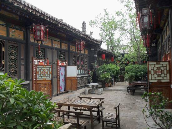 Pingyao Cheng Jia Hotel: The courtyard