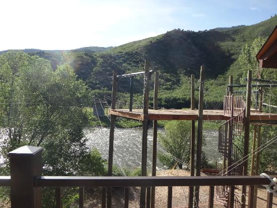 Glenwood Canyon Zipline Adventures: Here's what it looks like