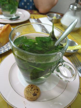 Zuivere Koffie: Mint tea