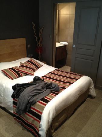 Hotel Villa les Bains : chambre
