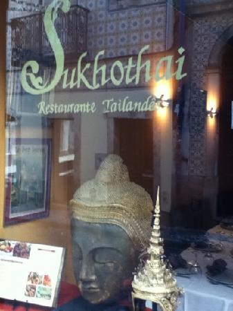 Sukhothai : bairro alto
