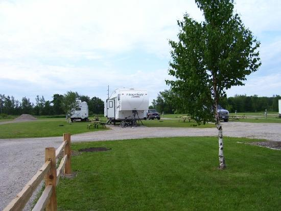 Soo Line Trail RV, Camping & Hotel: Soo Line Trail Campground ATV Trail