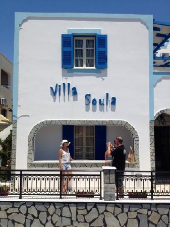 Villa Soula: entrada .