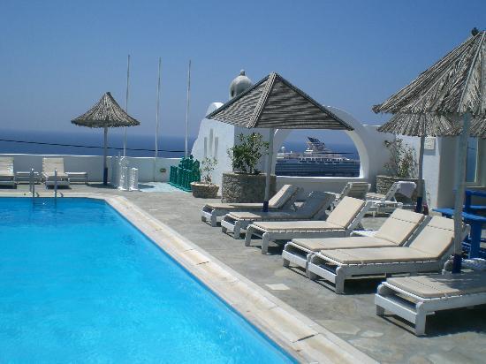 Aegean Hotel: Herrlicher Pool