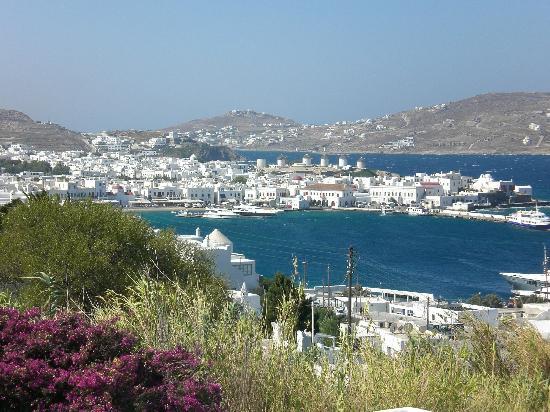 Aegean Hotel: Blick auf die Stadt