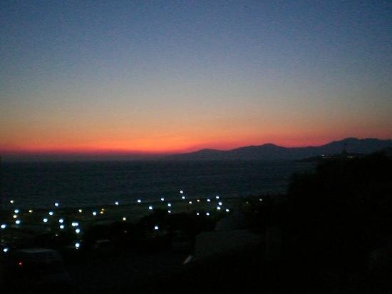 Aegean Hotel: Sonnenuntergang