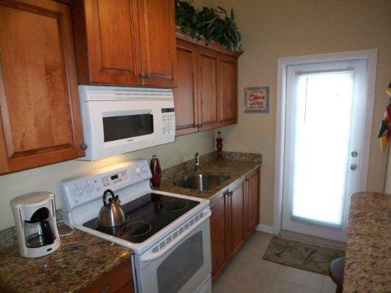Blue Waters Treasure Island: View of kitchen in 2 bedroom
