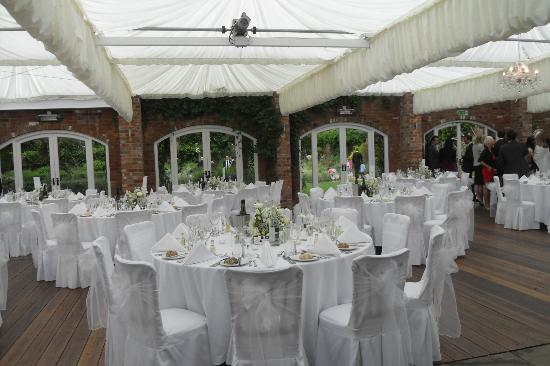 Northbrook Park Mews: Room designed by our caterers