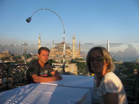 Adamar Hotel: Vistas desde la Terraza ( Espectacular )
