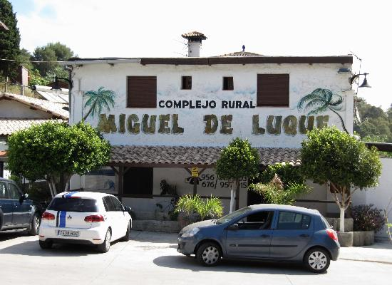 Complejo Rural Miguel Luque: entrata nel complexo rural