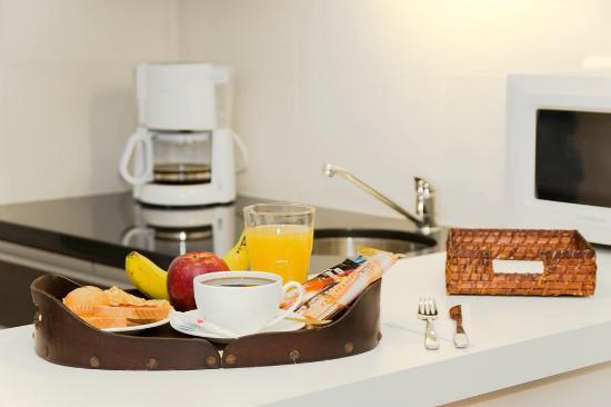 Massini Suites: Desayuno express
