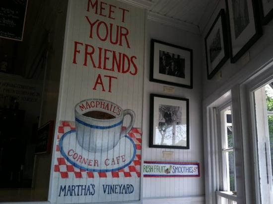 Photo of American Restaurant MacPhail's Corner Cafe at 18 Dock Street, Edgartown, MA 02539, United States