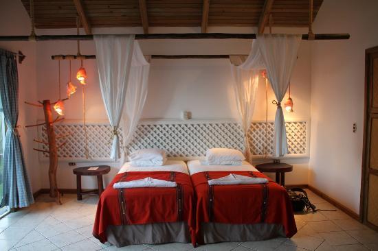Hotel Villa Caribe : chambre d'un bungalow