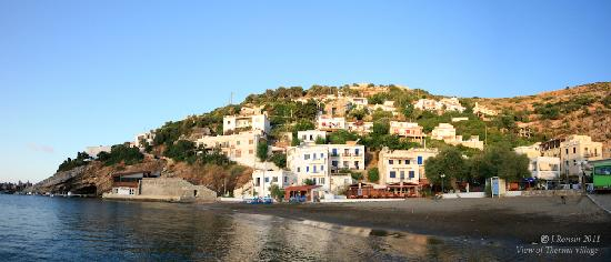 Hotel Marina: General View of Therma village and Marina Hotel