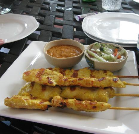 Basil: Chicken Satay