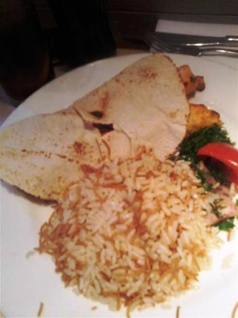 Le Pavillon: Nice tawooq with rice