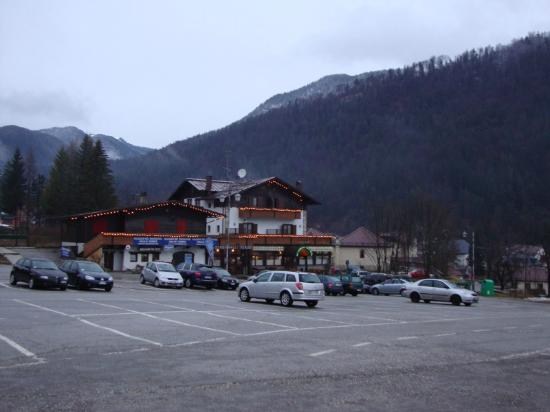 Valle Verde Hotel: View of hotel in winter, February 2010.